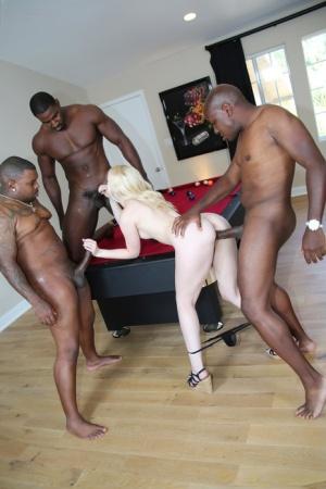 Ebony Blowbang Porn