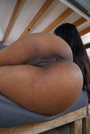 Ebony Close Up Porn