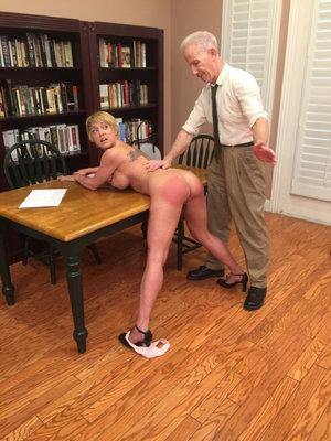 Ebony Spanking Porn