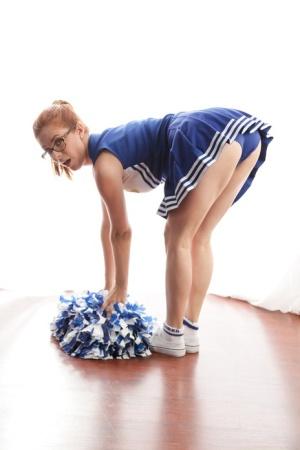 Ebony Cheerleader Porn