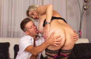 Sucking Ebony Tits Porn