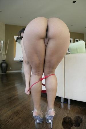 Ebony In Panties Porn