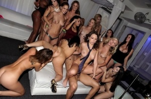Ebony Party Porn